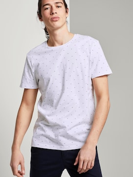 Print T-Shirtaus Organic Cotton - 5 - TOM TAILOR Denim