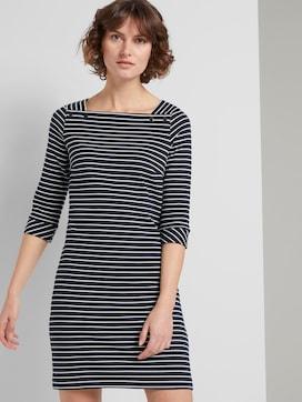 Maritimes Kleid mit Streifen - 5 - TOM TAILOR