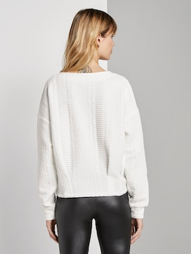 strukturierter Sweater - 2 - TOM TAILOR Denim