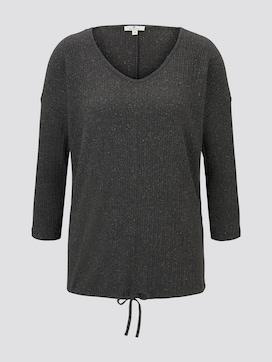 Shirt with drawstring - 7 - TOM TAILOR