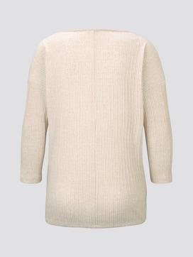 Shirt with drawstring - 8 - TOM TAILOR