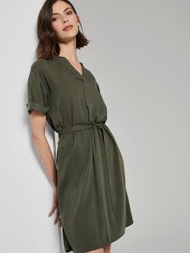 T-Shirt-Kleid mit Bindegürtel - 5 - TOM TAILOR