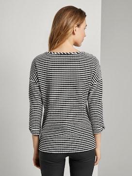 Sweatshirt in Jacquard-Optik - 2 - TOM TAILOR