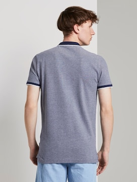 Strukturiertes Pique Poloshirt - 2 - TOM TAILOR Denim