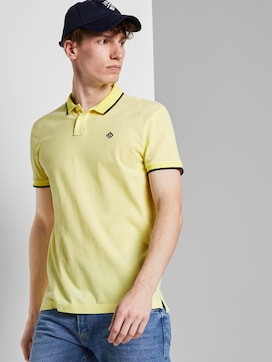 Strukturiertes Pique Poloshirt - 5 - TOM TAILOR Denim