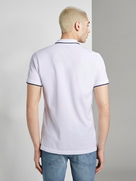 Strukturiertes Pique Poloshirt - 2 - TOM TAILOR Denim