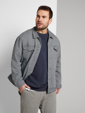Jeansjacke im Trucker-Stil - 5 - Men Plus