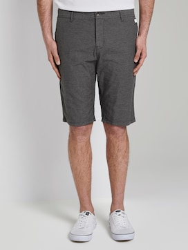 Gestructureerde Josh normale slanke Chino Shorts - 1 - TOM TAILOR