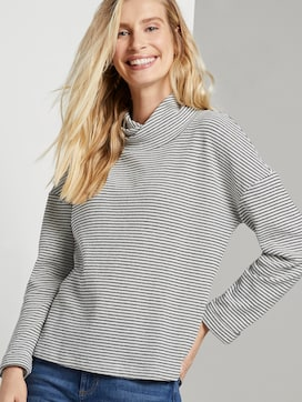 patroon Sweatshirt - 5 - TOM TAILOR