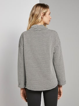 Gemustertes Sweatshirt - 2 - TOM TAILOR