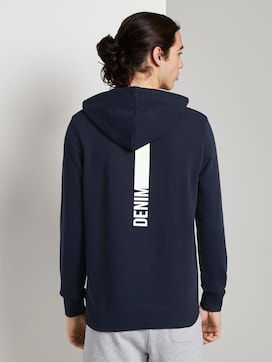 Hoodie with a letter print - 2 - TOM TAILOR Denim