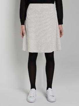 Structured skater skirt - 1 - TOM TAILOR