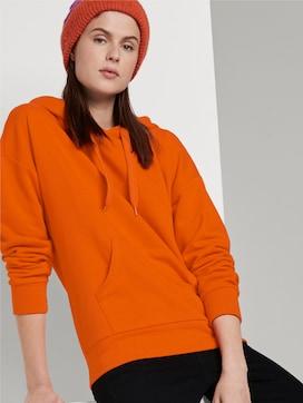 Hoodie with hoodie-print - 5 - TOM TAILOR Denim