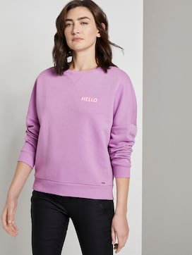 Sweatshirt mit Schrift-Print - 5 - TOM TAILOR Denim