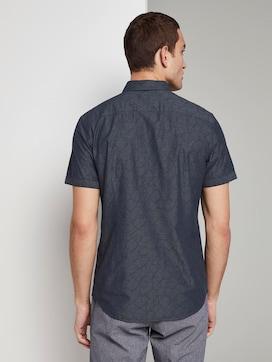 Shirt met korte mouwen en getextureerd patroon - 2 - TOM TAILOR