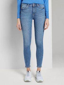 Nela Extra Skinny Jeans mit Schlitzen - 1 - TOM TAILOR Denim