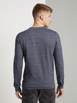 Sweatshirt with a discreet print - 2 - TOM TAILOR Denim