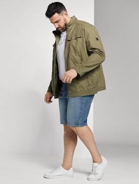 Josh Regular Slim Denim Shorts - 3 - Men Plus