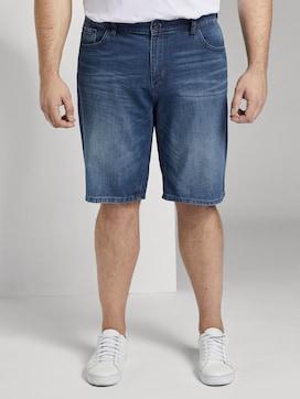 Josh Regular Slim Denim Shorts - 1 - Men Plus