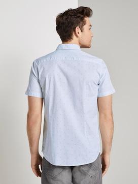 Patterned short-sleeved shirt - 2 - TOM TAILOR