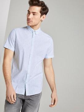 Patterned short-sleeved shirt - 5 - TOM TAILOR