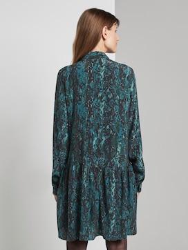 Mini shirt dress with a snake print - 2 - TOM TAILOR Denim