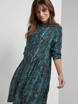 Mini shirt dress with a snake print - 5 - TOM TAILOR Denim