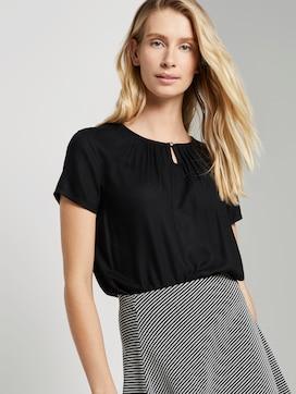 blouse shirt met ruche details - 5 - TOM TAILOR