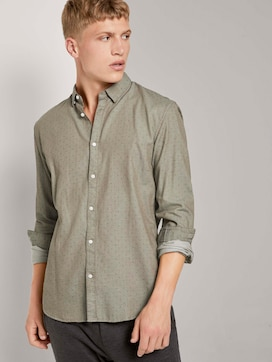 Finely patterned shirt - 5 - TOM TAILOR Denim