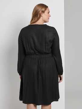 Kleid mit elastischer Taille - 2 - Tom Tailor E-Shop Kollektion