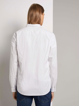 Patterned shirt with stretch content - 2 - TOM TAILOR Denim