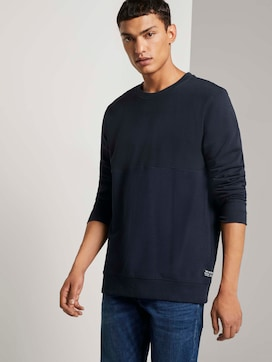 Sweatshirt mit Stepp-Struktur - 5 - TOM TAILOR Denim