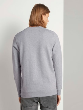 Sweatshirt met stappenstructuur - 2 - TOM TAILOR Denim