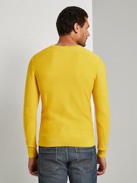 Pullover mit Streifenstruktur - 2 - TOM TAILOR