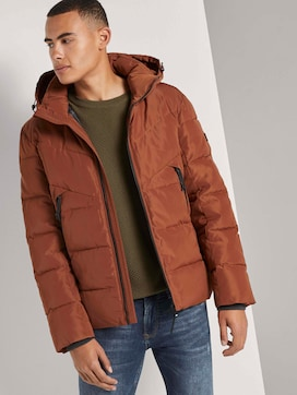 Puffer jacket with a detachable hood - 5 - TOM TAILOR Denim