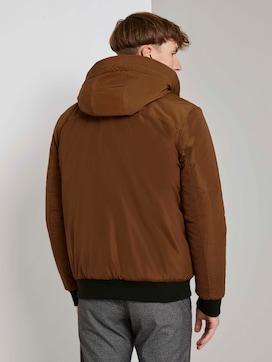 Bomberjack met gevoerde hoodie - 2 - TOM TAILOR Denim