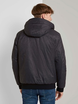 Bomber jacket with a lined hood - 2 - TOM TAILOR Denim