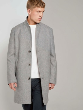 Modern wool-blend coat - 5 - TOM TAILOR Denim
