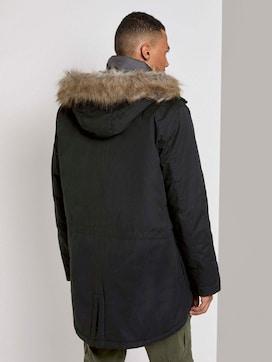 Winter parka with a faux fur trim - 2 - TOM TAILOR Denim