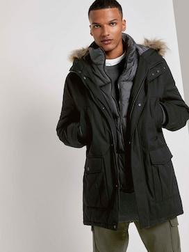 Winter parka with a faux fur trim - 5 - TOM TAILOR Denim