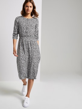 Gemustertes Midi-Kleid - 5 - TOM TAILOR