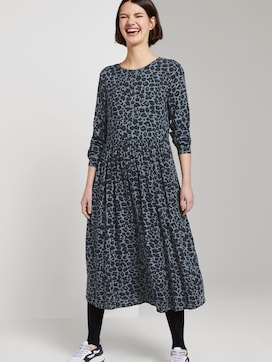 Kleid mit Leo-Print - 5 - TOM TAILOR Denim