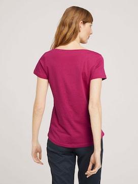 T-Shirt mit Logo Print - 2 - TOM TAILOR