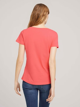 T-shirt with a logo print - 2 - TOM TAILOR