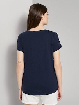 T-shirt met een kleine print - 2 - TOM TAILOR Denim