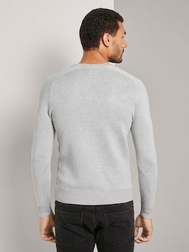Pullover with raglan sleeves - 2 - TOM TAILOR