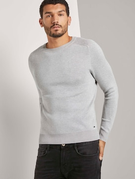 Pullover with raglan sleeves - 5 - TOM TAILOR
