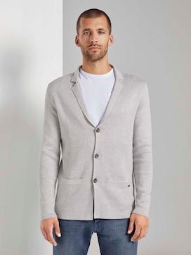 Gebreide smart-casual jas - 1 - TOM TAILOR