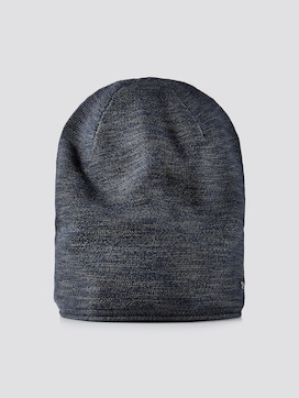 Mottled beanie - 7 - TOM TAILOR
