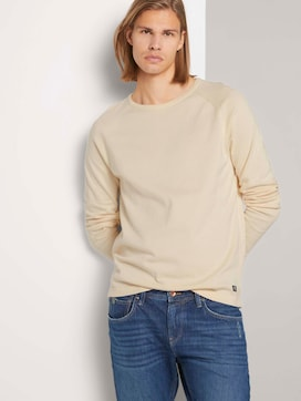 Melierter Strickpullover - 5 - TOM TAILOR Denim